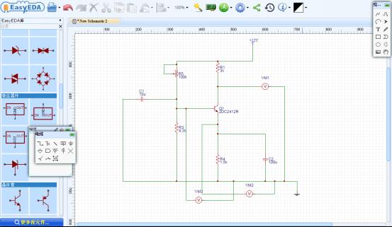 Online Schematic Editor Circuit Simulator - Block And Schematic ...